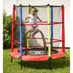 Детски батут 140 см с мрежа